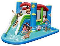 Надувной батут с бассейном Happy hop