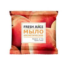 Мило косметичне Peach & Fig 75г