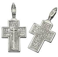 Серебряный крестик с Молитвой Честно́му Кресту 1016кр