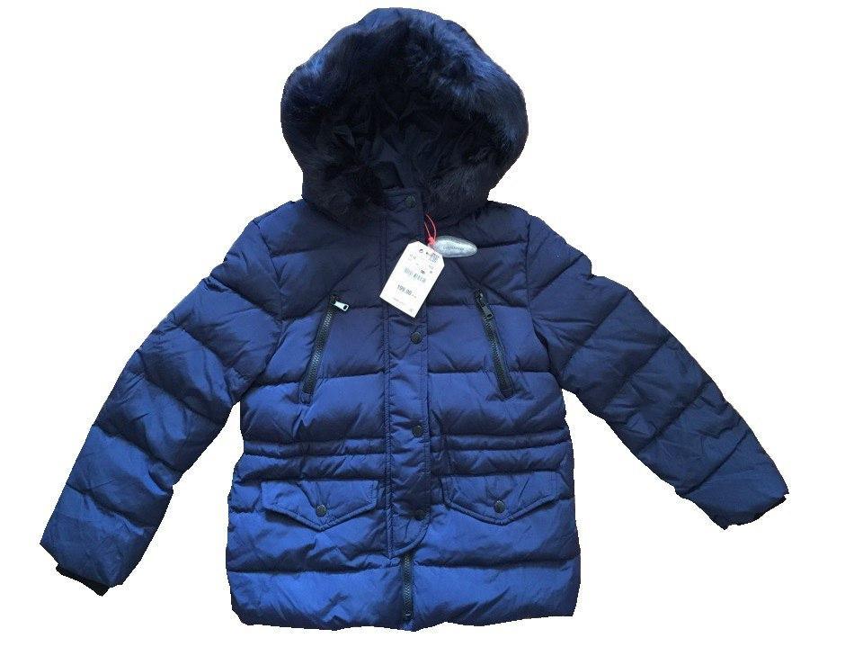 Подростковый зимний пуховик на девочку 11-12 лет Zara Испания Размер 152