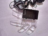 Лупа бинокулярная №9892С с Led подсвет., 1,0Х1,5Х2,0Х2,5Х3,5Х4,5Х5,5Х6