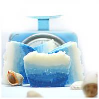 Натуральное мыло «Морское пенное» с нуля ручной работы, 100 г