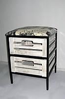 Пуфик кованый на 2 ящика, фото 1