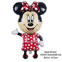 Шар воздушный фольгированный Minnie Mouse 90 см