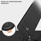 Чохол бампер Carbon Fiber TPU для Xiaomi Redmi 4X / 4X Pro / Тільки червоний /, фото 6