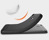 Чохол бампер Carbon Fiber TPU для Xiaomi Redmi 4X / 4X Pro / Тільки червоний /, фото 9