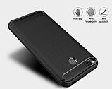 Чохол бампер Carbon Fiber TPU для Xiaomi Redmi 4X / 4X Pro / Тільки червоний /, фото 10