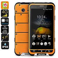 "Неубиваемый смартфон Ulefone Armor orange оранжевый IP68 (2SIM) 5"" 3/32GB 5/13Мп 3G 4G оригинал Гарантия!"