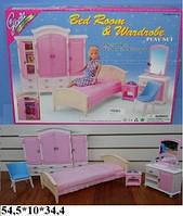 Мебель Gloria 24014 спальня с гардеробом кор.54,5*10*34,4 ш.к./12