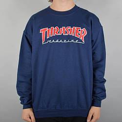 Thrasher свитшот | Бирки | Кофта Трешер мужская