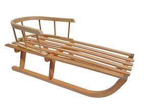 Санки деревянные