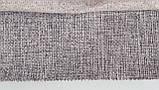 Мебельная рогожа ткань Поло сер, фото 3
