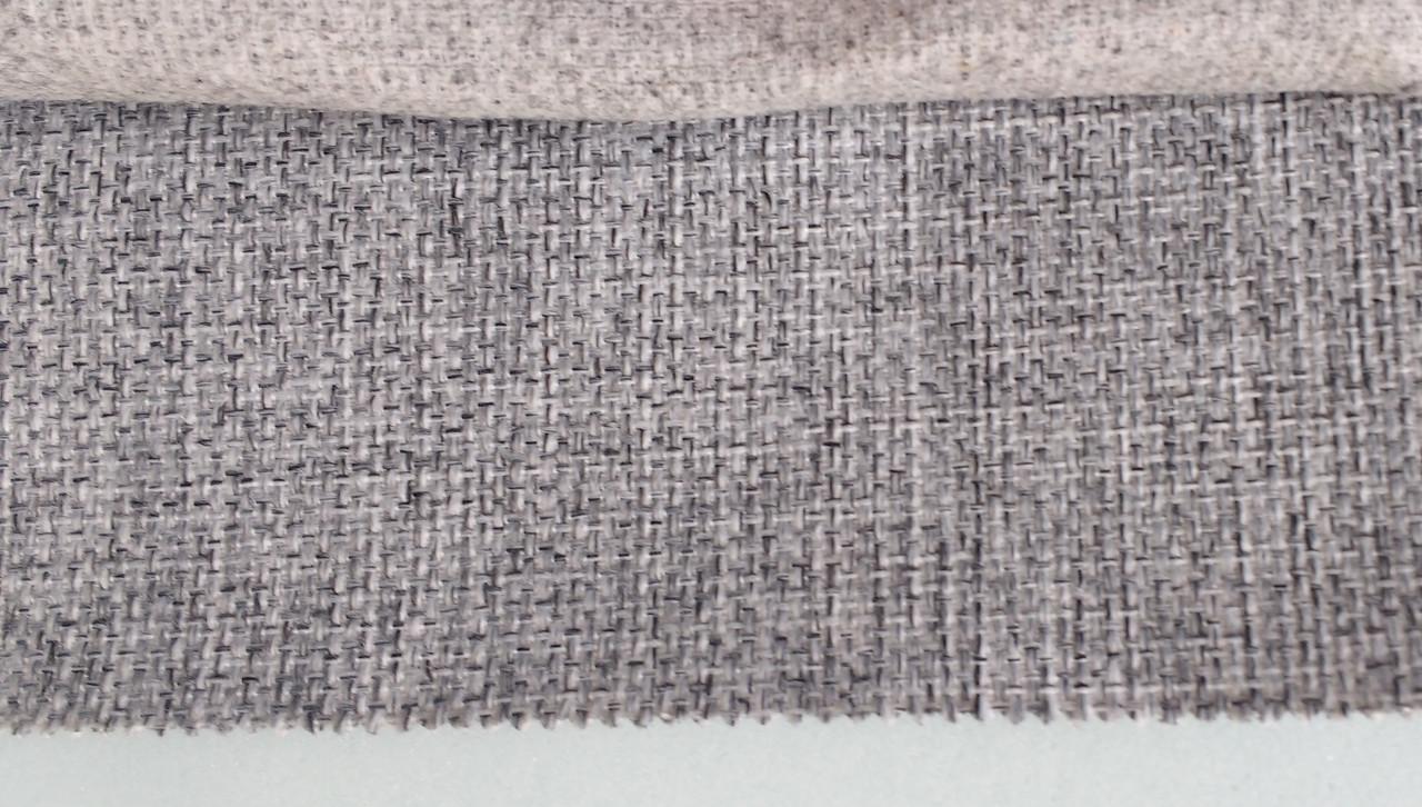 Мебельная рогожа ткань Поло сер