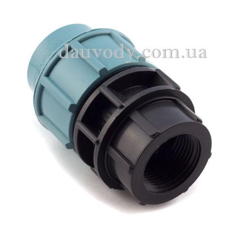 """Муфта с внутренней резьбой 32х1/2"""" для полиэтиленовых пнд труб (Santehplast)"""