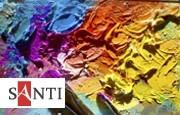 Краски и гель Santi Studio