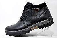Мужские ботинки Norman, зимние из натуральной кожи