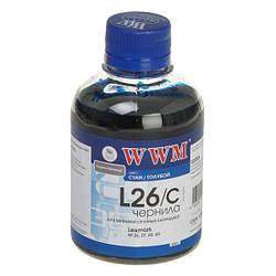 Чернила WWM для Lexmark №26, №27 (10N0026/0227) Cyan (200 грамм)