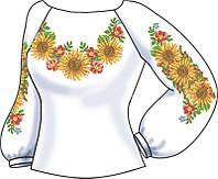 СВЖБ-65. Заготовка Жіноча сорочка лляна біла