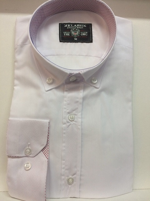 Класссическая белая рубашка Klassik