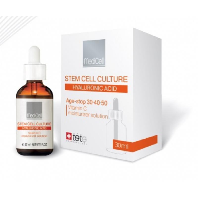 TETe Vitamin C moisturizer solution Гидратирующая сыворотка с витамином С защита от фотостарения