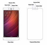 Закаленное стекло для Xiaomi Redmi 4X / края 2.5D / полный клей по всему стеклу + Ликвид / Liquid glass, фото 4