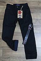 Утепленные катоновые брюки на флисе. 134- 164 рост.