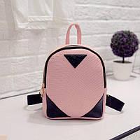 Рюкзак детский розовый