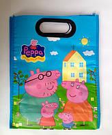 Сумка детская пакет Свинка Пеппа