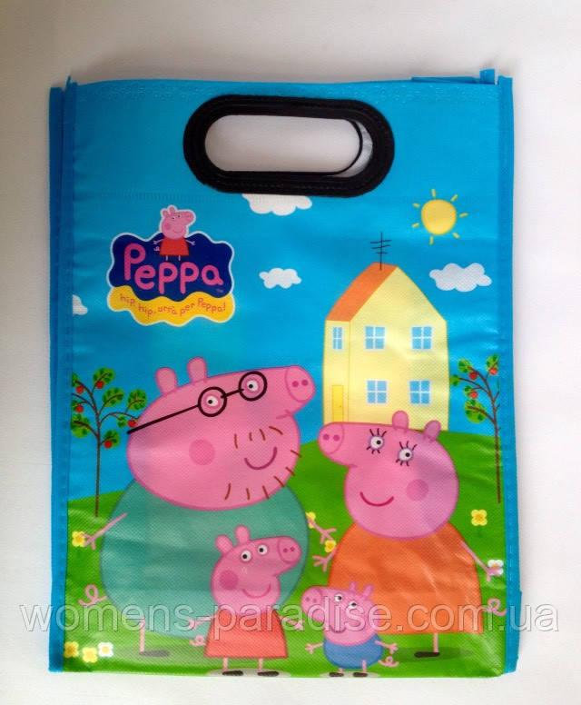 Сумка детская пакет Свинка Пеппа - Женский рай в Харькове