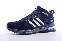 Мужские кроссовки Adidas Neo Adidas Neo Winter с мехом (blue)