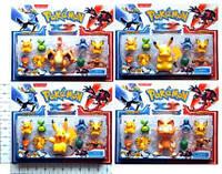 """Покемоны BT-PG-0015 """"Pokemon XY"""" 9 фигурок по 2,5"""" и 4"""" 4в.лист ш.к./192/"""