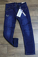 Утепленные джинсы на флисе 7 лет