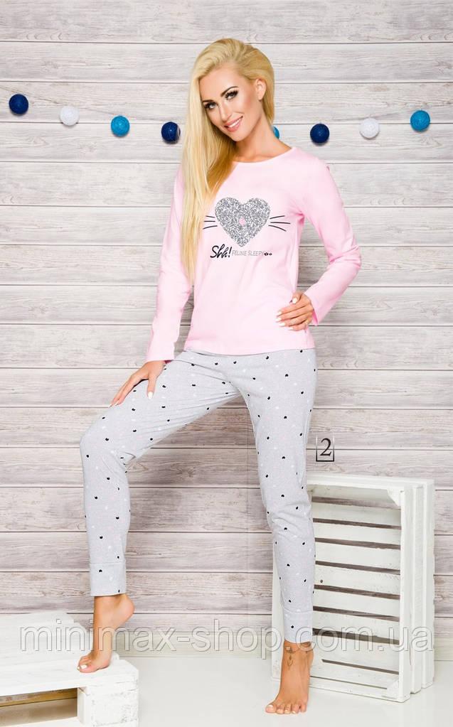 Пижама женская хлопковая GALA 2113 TARO Польша