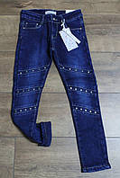 Утепленные джинсы на флисе для девочек. 14 лет