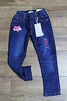 Утепленные джинсы на флисе для девочек. 12 лет