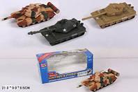 "Модель танк PLAY SMART 9546 ""Боевой отряд"" метал.инерц.3цв.кор.21*9*8,5 ш.к./96/"