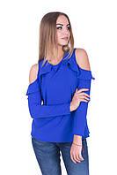 Женская блуза с открытыми плечами