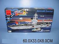 "Конструктор ""BRICK - Авианосец"", 990 дет., в кор. 60х33х8 /8/"