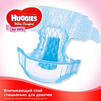 Подгузники Huggies Ultra Comfort для девочек 4 (7-16 кг) Mega Pack 66 шт, фото 3