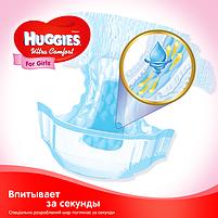 Подгузники Huggies Ultra Comfort для девочек 4 (7-16 кг) Mega Pack 66 шт, фото 5