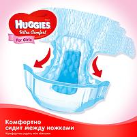 Подгузники Huggies Ultra Comfort для девочек 4 (7-16 кг) Mega Pack 66 шт, фото 7