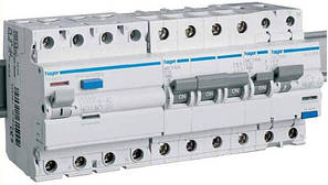 Автоматичні вимикачі Hager тип B 6кА
