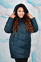 Зимняя куртка женская большого размера недорого в интернет-магазине Украина Россия ( р. 50-58 )