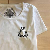 Palace топовая футболка • Женская белая • Бирки Фотки