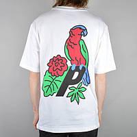 Футболка мужская с принтом Palace skateboards-parrot
