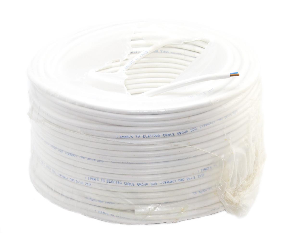 ПВС 2х1,5 провод гибкий медный ЗЗЦМ