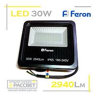 Светодиодный LED прожектор Feron LL-630 30W 60LED 6400K 2940Lm