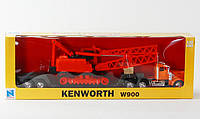 P. Набор Кран +Грузовик 1979 Kenworth W900 1:32 //