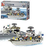 Конструктор SLUBAN M38-B0122 армия, корабль, фигурки