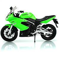 Welly. Мотоцикл метал. 1:10 Kawasaki 2009 NINJA 650R //
